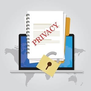 How to keep divorce information private